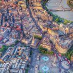 Londres. arquitectura desde el cielo